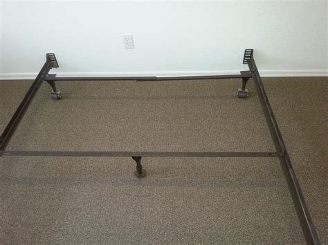 cast iron bed frame queen queen size cast iron bed frame with middle bar included