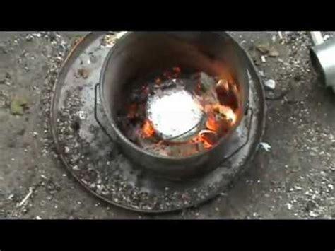 melting aluminium at home to ingots