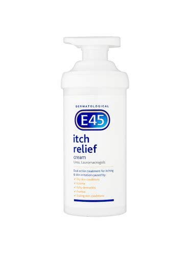 tattoo cream e45 e45 dermatological itch relief cream 500g first 4 meds