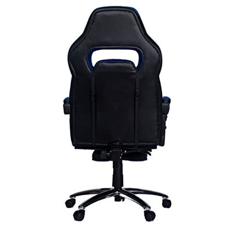 office chair with headrest and footrest topsky high back racing style pu leather executive