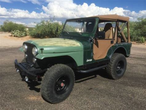 Jeep Cj For Sale Arizona Find Used 1978 Jeep Cj 5 Golden Eagle In Vail Arizona