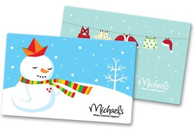 Michaels Gift Card - christmas tree decorating ideas one good thing by jillee