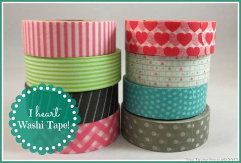 washi tape easy washi tape note cards the taylor house