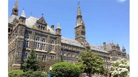 Georgetown Mba One Year Or Two Year by Georgetown Student Targeted As For
