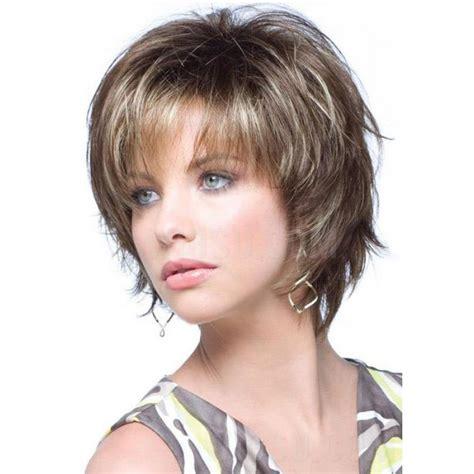 googlephotos short haircuts short layered wispy bang haircut with blonde highlights