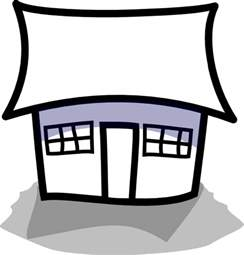 Outlines Of Houses Clipart by House Outline Clip At Clker Vector Clip Royalty Free Domain