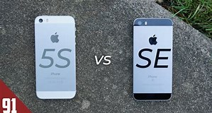 Image result for iPhone SE 2020 vs 5S. Size: 299 x 160. Source: www.youtube.com