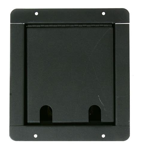 Recessed Floor Box by Elite Recessed Metal Stage Floor Box With Plate With