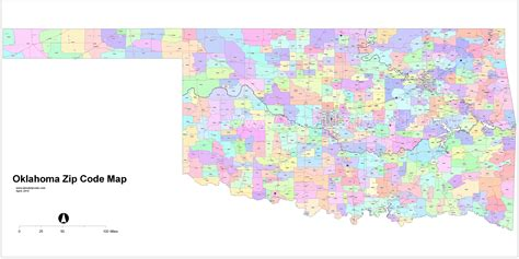 oklahoma city zip code map oklahoma zip code map