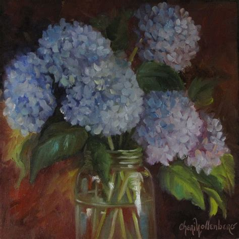 hydrangea painting on canvas 17 best images about hydrangea paintings on pinterest