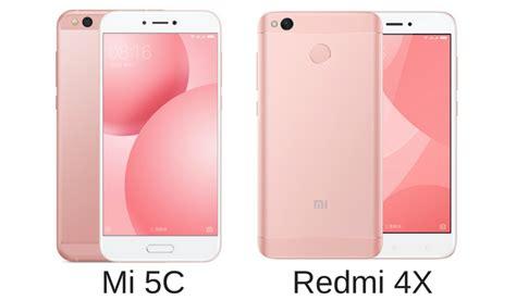 redmi 4x xiaomi mi 5c with surge s1 soc redmi 4x smartphones launched in china 187 phoneradar