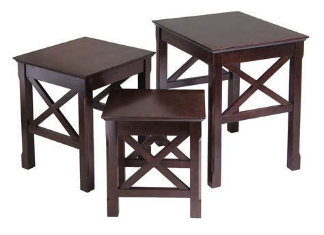 Three Tables by Winsome Xola 3pc Nesting Table By Oj Commerce 40333 113 23