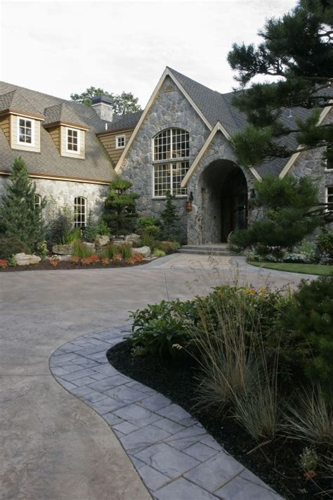 driveway curb appeal curb appeal gets a boost from front yard landscape design