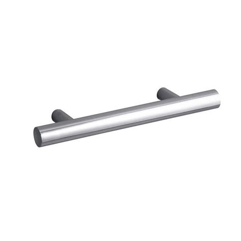 kohler purist 3 in polished chrome drawer pull k 14485 cp
