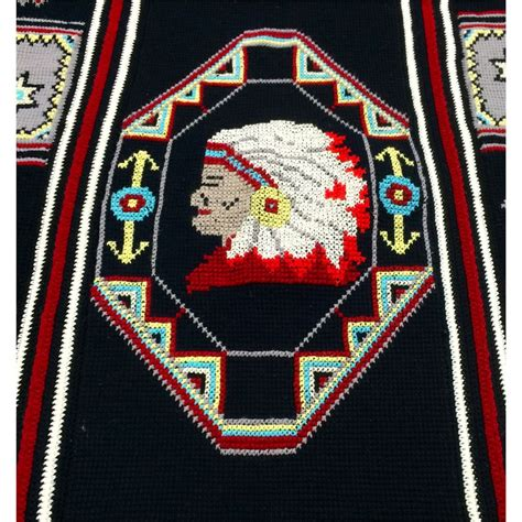 southwestern designs cross stitch handmade blanket featuring southwestern designs