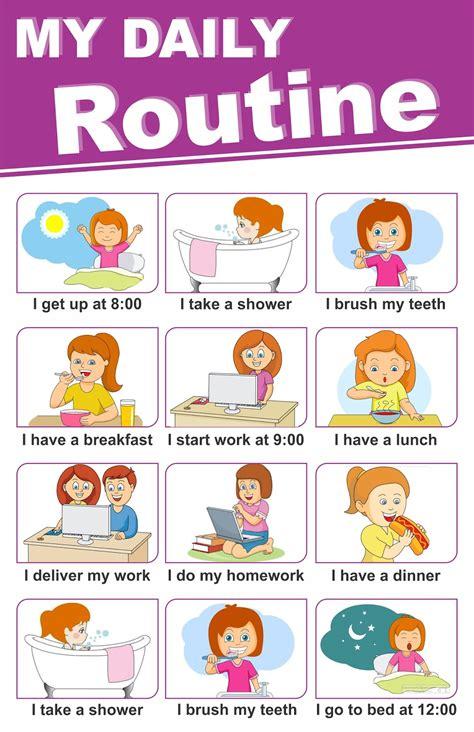 daily routine related keywords daily routine keywords keywordsking