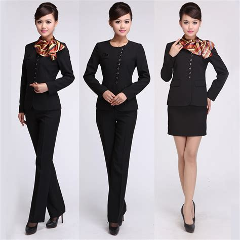 elegant cheap hotel reception uniform sqnc2015001j buy