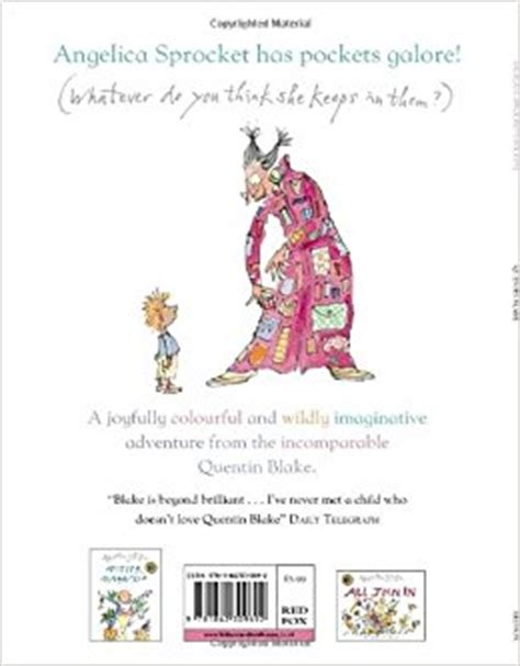 libro angelica sprockets pockets quentin angelica sprocket s pockets quentin blake 9781862309692 amazon com books