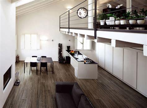 schäbige schicke wohnzimmer einrichtung schwarzes sofa