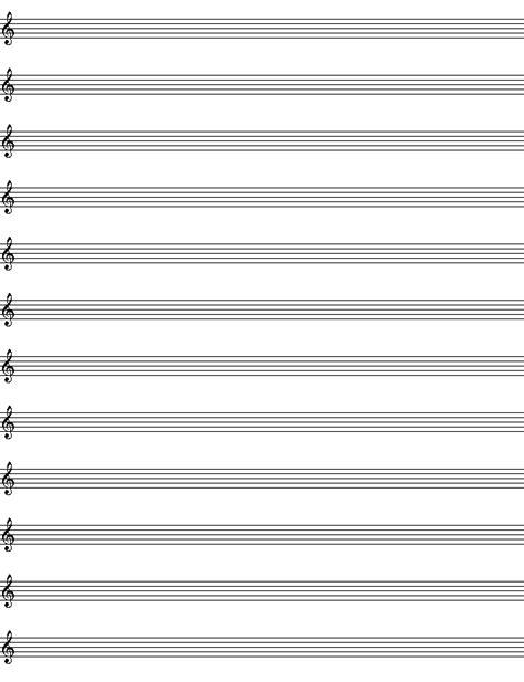 paper violin template blank sheet blank piano sheet template 30