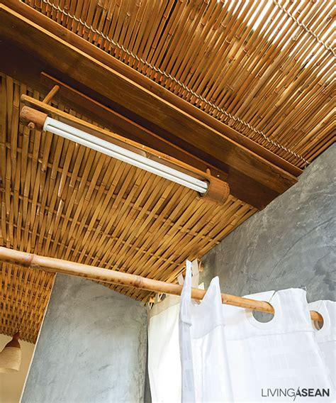 loft house with entrancing bamboo design living asean