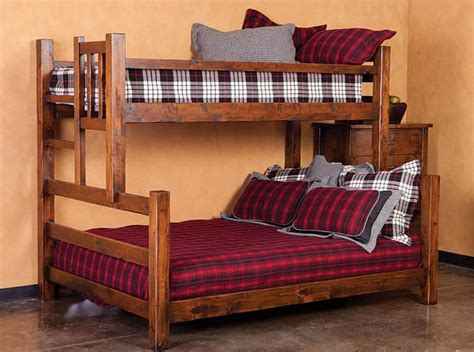 queen  king bunk bed jackson hole extra long twin