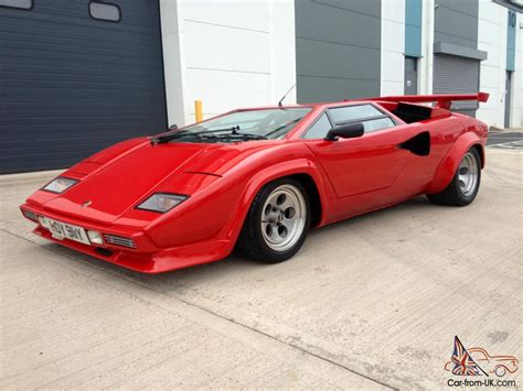Lamborghini Countach Replica For Sale Uk Lamborghini Countach Prova Sport Kit Car Replica Correctly