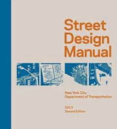 design criteria manual for municipal services nyc dot dot library