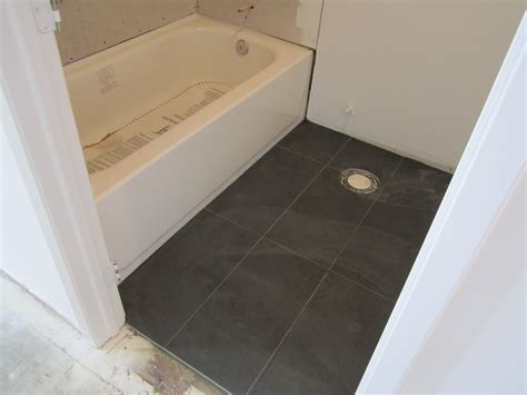 how to lay floor tile in a bathroom tiles interesting 12x24 tile in a small bathroom 12x24