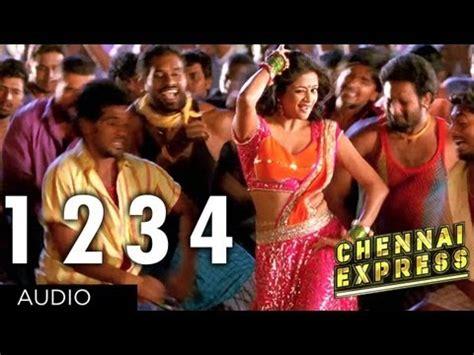 theme music of chennai express one two three fou videolike