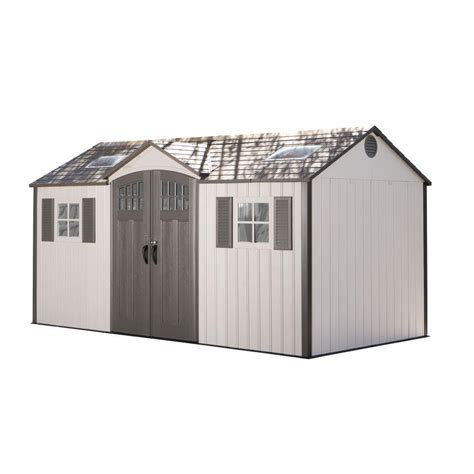 Lifetime Shed 8 X 15 by Lifetime 15 Ft X 8 Ft Garden Building Shed 60138 The