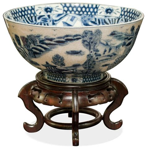 decorative bowls home decor porcelain bowl with blue and white motif asian decorative bowls by china furniture