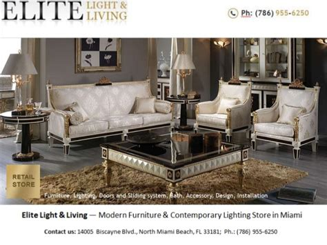 modern furniture store in miami elite light living