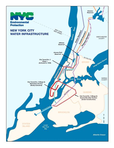 map of new york city tunnels awaited celebration for water tunnel no 3 new york