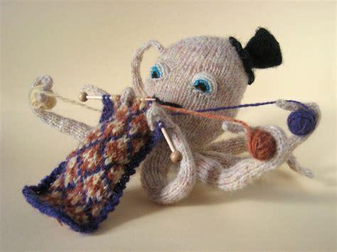 Knitting Pattern Octopus | knitting octopus pattern