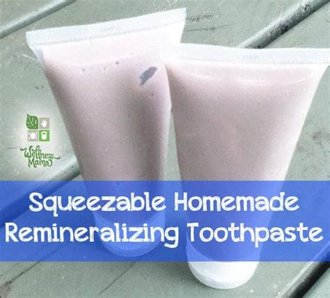 diy toothpaste diy squeezable toothpaste recipe