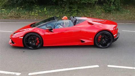Lamborghini Huracan Red by Red Lamborghini Huracan Auto Express