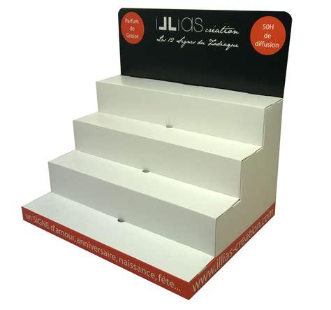 Presentoir Comptoir by Plv Pr 233 Sentoir De Comptoir Escalier Fronton Plv De