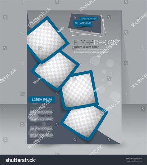editable brochure templates free brochure design flyer template editable a4 stock vector