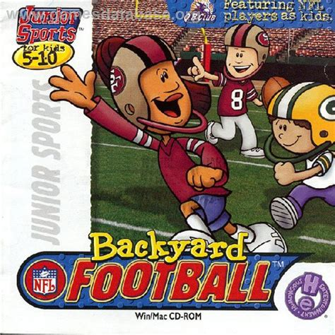backyard football computer game backyard football 1999 full game free pc download play