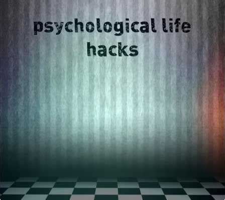 psychological comfort definition psychological hacks to help you in social situations