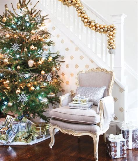 how do i love thee silver gold white holiday decor