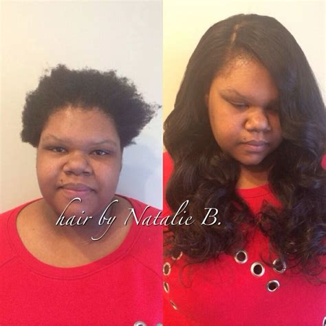 before and after sew in weave 144 best images about sew in hairstyles on pinterest