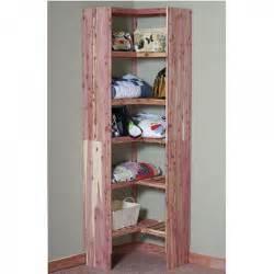24 quot cedar corner cubby deluxe solid cedar closet