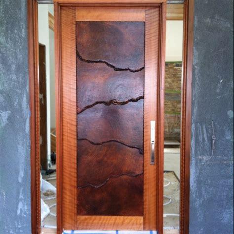 Handmade Front Doors - custom redwood burl front door doors other portals