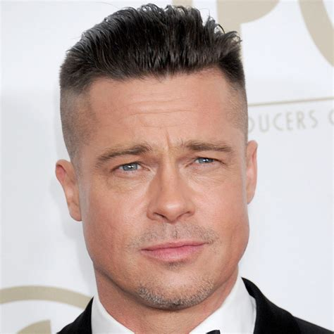 hair cut to lift face brad pitt facelift plastic surgery before and after celebie