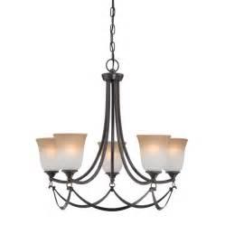 allen and roth lighting fixtures shop allen roth winnsboro 25 in 5 light rubbed