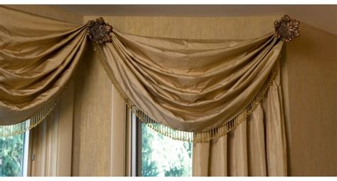 curtain swag holders elegant valances swags ares installed on tieback holder