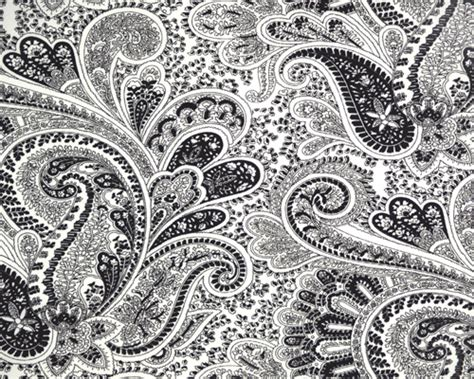 Black And White Paisley Quilt by Black White Paisley 1299 20 00 Modpeapod We Make