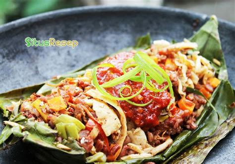 cara membuat nasi bakar yg mudah resep cara membuat nasi bakar isi jamur tiram spesial